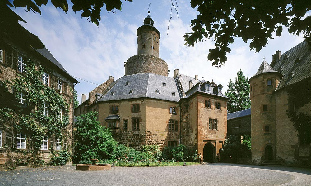 Schloss-Anfahrt