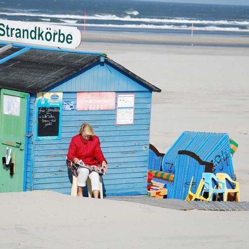 Landpartie-Strandpartie